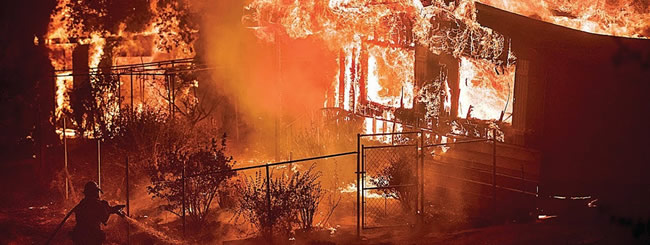Jewish News: Chabad Fund to Help Victims of California Fires With Essential Needs