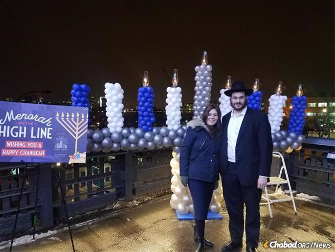 Rabbi Uri and Mushki Bloy will soon move to India to assist with Chabad of Mumbai's activities.