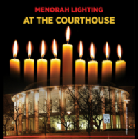 Chanukah at the Courthouse