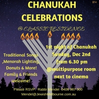 Chanukah Celebrations at Classic Residences