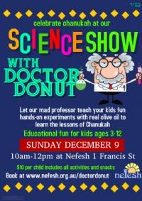Chanukah Party & Science Show