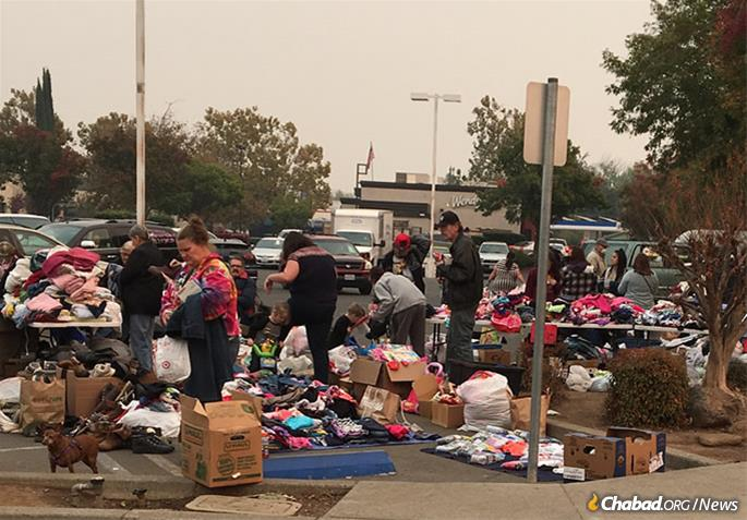 Many locals are living in shelters, and some are camping out in parking lots. Most are only beginning to come to terms with their losses and needs.