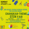 Chanukah STEM Open House at Hebrew School