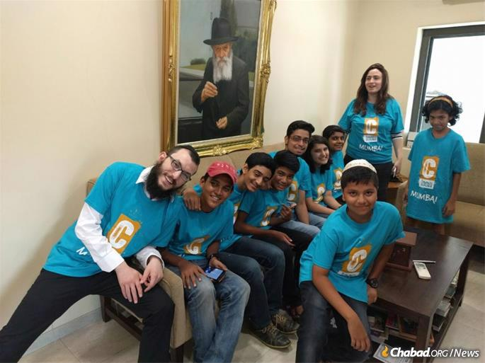 The Kozlovskys lead Mumbai's new CTeen chapter, which the Bloys will help lead once they arrive in India.