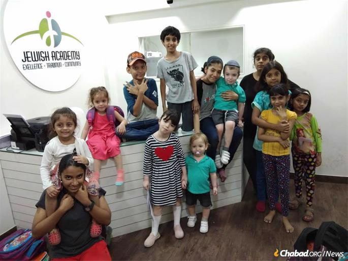 Excellent education is a high priority for parents in India, and Jewish Academy has garnered a good name for both its Jewish studies and its top-notch secular studies.
