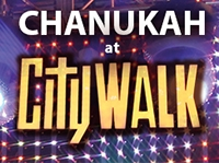 Chanukah@CityWALK 2018