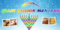Giant Balloon Chanukah party