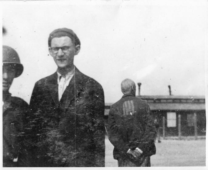 S.B. Unsdorfer following liberation.