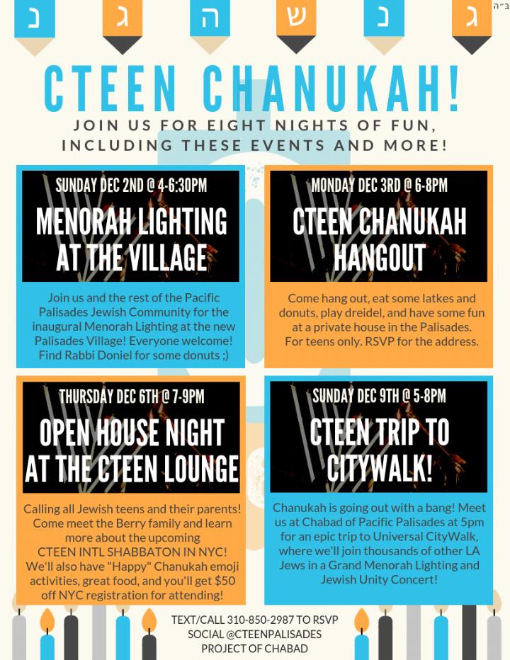 CTeen Chanukah Schedule.png