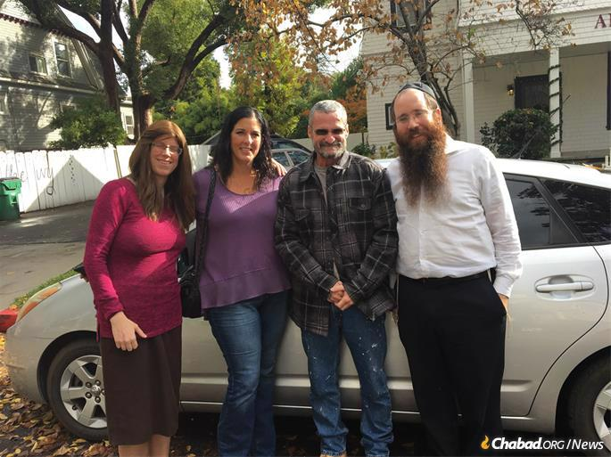 The car giveaway is one of a number of initiatives that Chabad of Chico has spearheaded in the wake of the fire that claimed 85 lives, and destroyed nearly 14,000 residences and about 5,000 other structures.