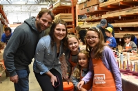 Menorah Workshop at Home Depot '18