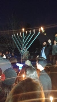 Grand menorah Lighting 2018