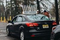 Car Menorah Parade