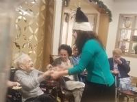 Chanukah with Seniors 2018