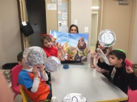 Chabad Hebrew School and Story of Chanukah!