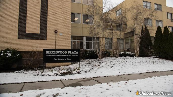 Birchwood Plaza has welcomed Anshei Lubavitch with open arms, and its residents benefit from having a synagogue on campus. (Photo: Brett Walkow)