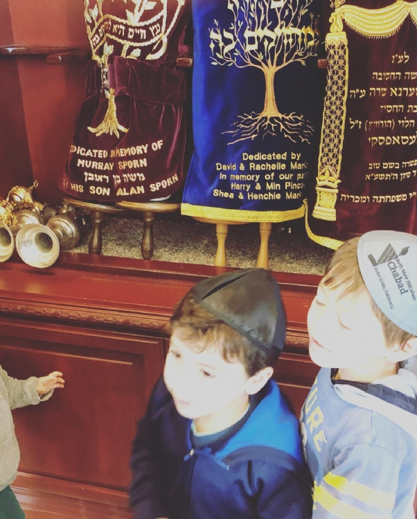 Chanukah at Aleph Preschool