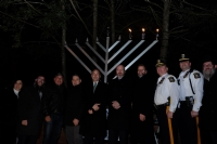 Medford Menorah Lighting 2018