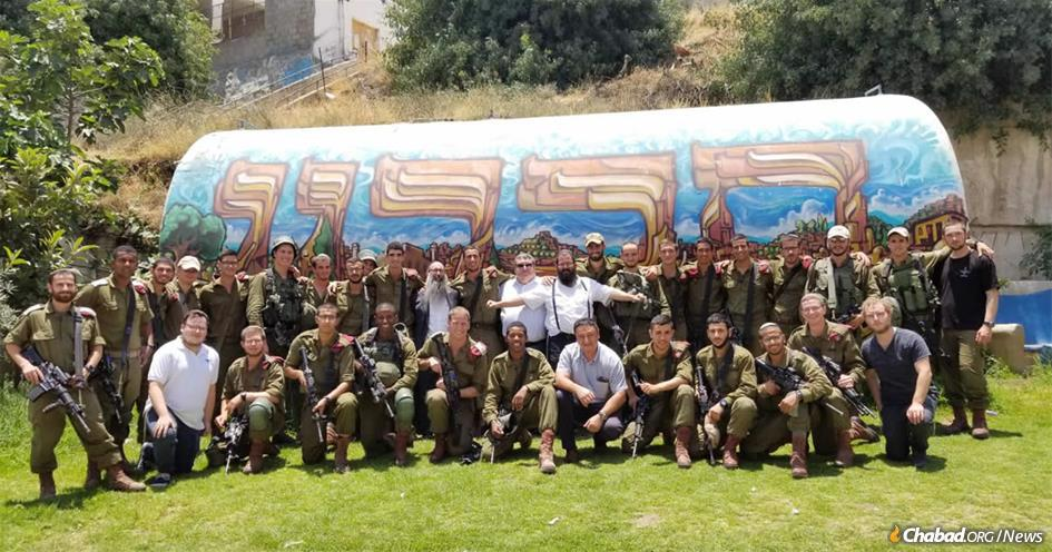 Chabad of Hebron has served tens of thousands of IDF troops stationed in the historic, holy city.