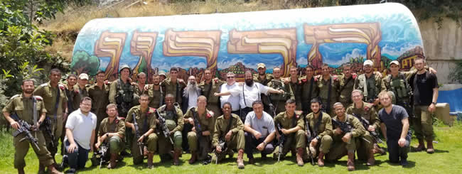 In Terrorists' Line of Fire Daily, IDF Troops Turn to Chabad of Hebron