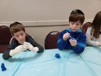 Hebrew School Chanukah Celebrations 2018