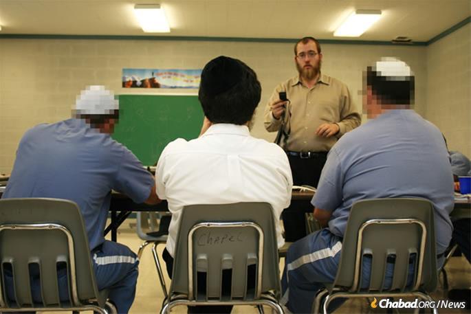 Yeshivah in prison program.