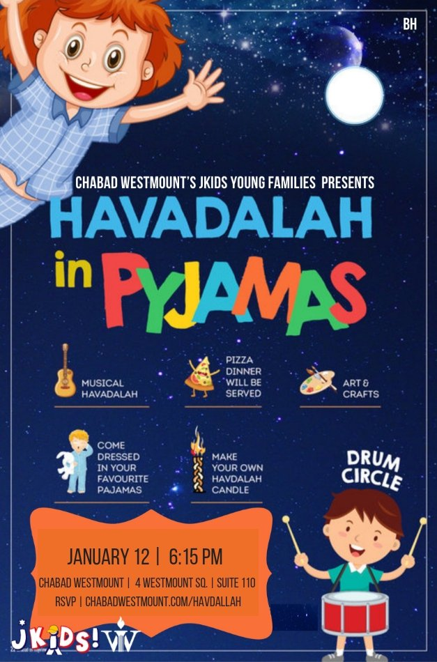 HAVDALLAH FLIER JKIDS