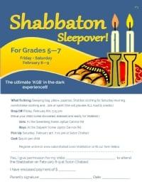 Hebrew School Shabbaton