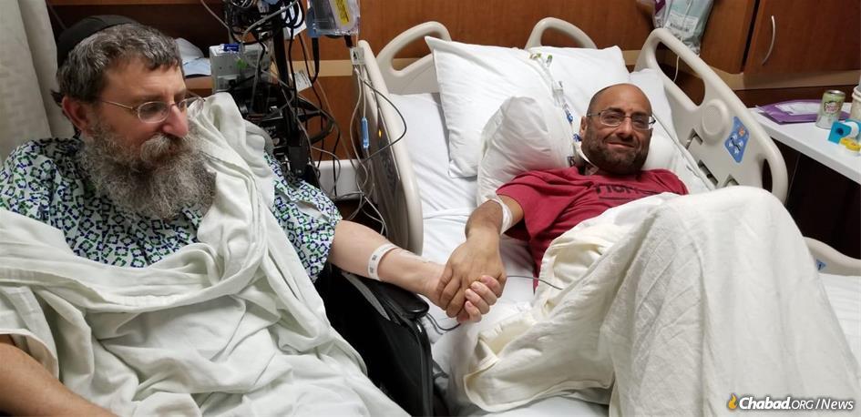 Rare Kindness: Kidney Donor Rabbi Now Donates His Liver