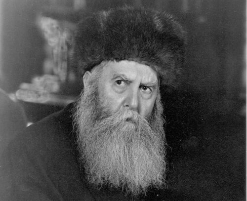 The sixth Lubavitcher Rebbe, Rabbi Yosef Yitzchak Schneersohn, who passed away in 1950, on the 10th of the Hebrew month of Shevat. The gathering that night was to commemorate 29th anniversary of his passing.