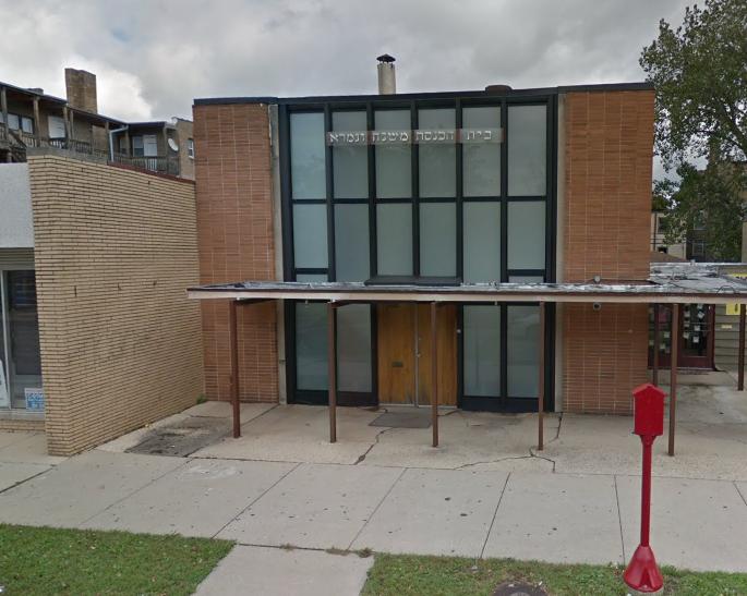 Mr. Broida's shul, Mishna U'gemara, in Chicago. (credit: Google Maps)