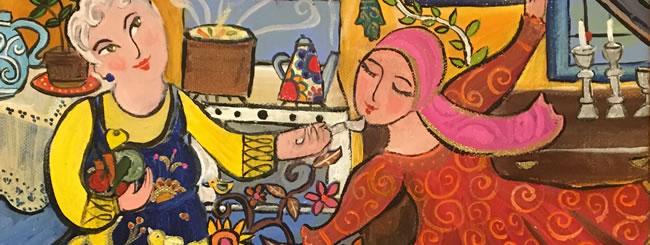 Art: Pre-Shabbat Frolic
