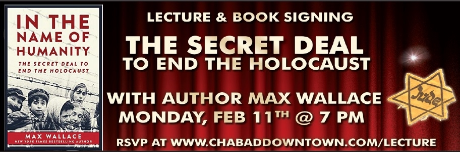 The Secret Deal Lecture - Chabad of Downtown