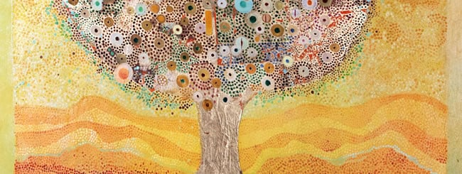 Jewish Art for the Soul: Art: Golden Tree of Life