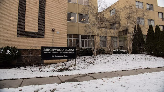 With kosher meals and a synagogue, Birchwood Plaza has welcomed Jewish residents for decades. (Photo: Brett Walkow)