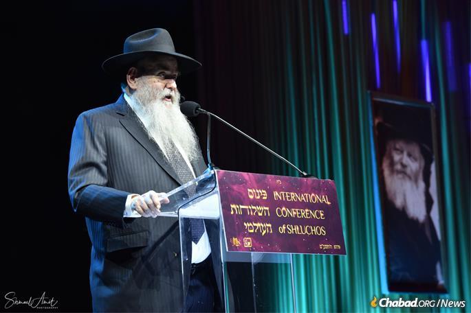 Rabbi Moshe Kotlarsky (Photo: Shmuel Amit)