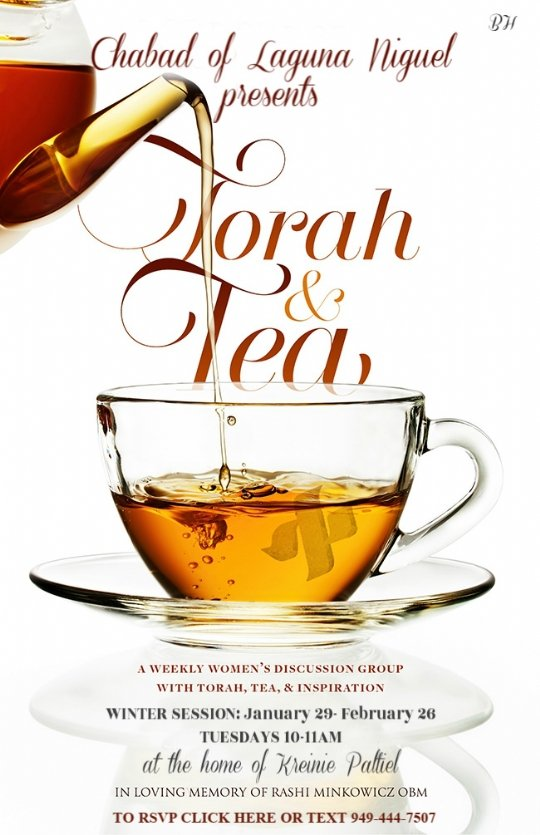torah and tea winter session