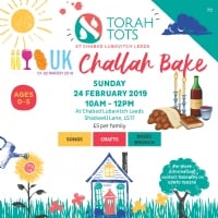 Torah Tots - Challah Bake