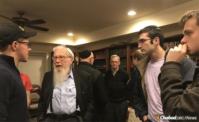 """""""It was nice to see another example of a Torah-observant Jewish person who sees reason in science and the world we live in, and how they can go together and co-exist quite nicely,"""" said one student."""