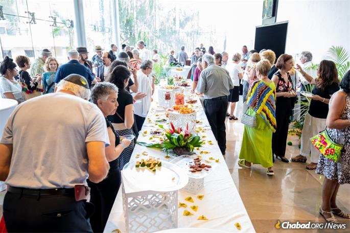 Kosher events are a welcome new addition to the city's Jewish residents and visitors.