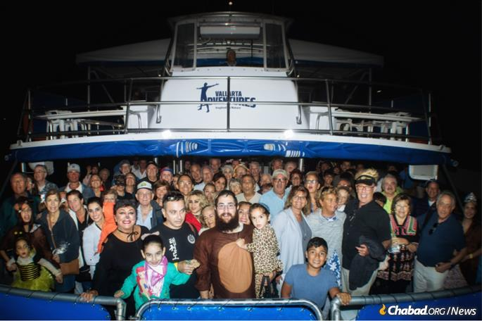 A Purim event at sea