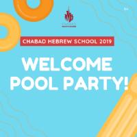 Hebrew School Welcome Pool Party 17 Feb