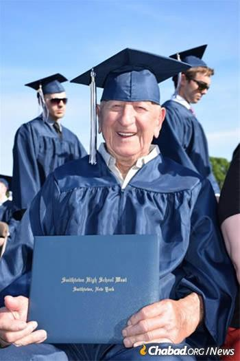 Despite never getting past first grade, Miller spoke seven languages and was recently honored with a diploma from a local high school.