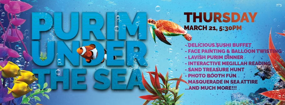 Purim Under the Sea - Chabad of Altamonte Springs