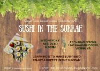 Sushi in the Sukka 5779
