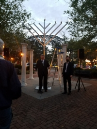 Chanukah in Winter Haven 2017