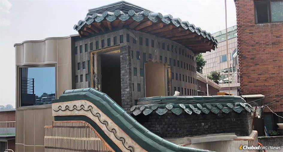 To help make the observance of family purity easier and strengthen their admittedly transient community, Rabbi Osher and Mussy Litzman, co-directors of Chabad of Korea, are building South Korea's first-ever mikvah.