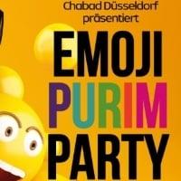 Emoji Purim-Party