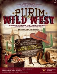 Yardley | Purim in the Wild West