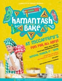 Yardley | Family Hamentash Bake at McCaffrey's